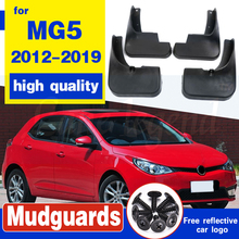 Molded Mud Flaps For MG5 2012-2019 2013 2014 2015 2016 2017 Mudflaps Splash Guards Mud Flap Front Rear Mudguards Fender set molded mud flaps for honda fit jazz 2014 2017 mudflaps splash guards front rear mud flap mudguards fender 2015 2016