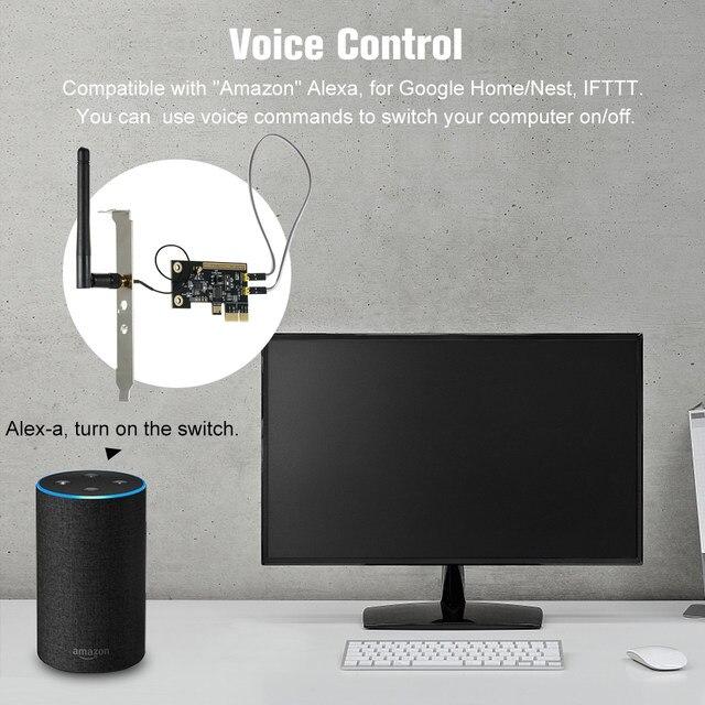 interruptor de controle remoto wi-fi sem fio
