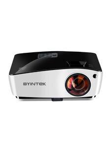 BYINTEK короткометражный проектор K5, 4000 ANSI, Full HD 1080P видео проектор, DLP 3D верхний проектор для кино дневное образование
