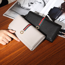 2020 American   wallet and new European. Women's long, fashionable, simple, high-capacity, large-capacity women's wallet.