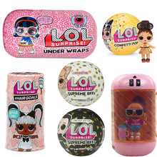 Surprise LOLs Dolls Color Change Egg Confetti Pop Series Dress LOLS Doll Ball Action Figure Kids Toys For Children Christmas1