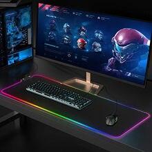800*300Mm 7 Verlichting Modi Gaming Muismat Computer Mousepad Rgb Muismat Pc Bureau Spelen Mat Ontmoette Backlit Xxl size & Duurzaam