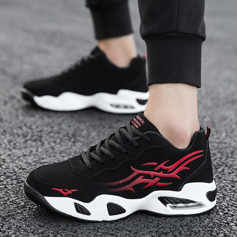 2020 Spring And Autumn New Style Low Top Air Cushion Shoes Trend Casual Running Shoes Breathable Sports Basketball Shoes