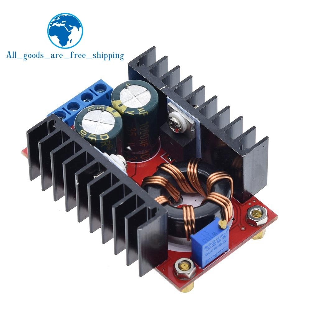 10-30V to 12-35V Step Up CV CC 150W 10A DC DC Boost Converter Car Power Supply L