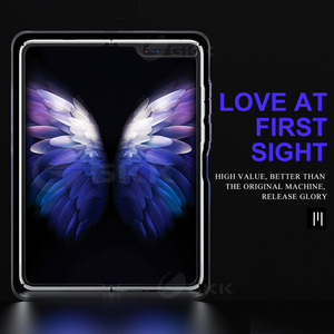 Image 3 - Gkk Luxe Uv Bakselvernis Harde Case Voor Samsung Galaxy Fold Case 360 Volledige Bescherming Anti Klop Case Voor samsung Fold Cover