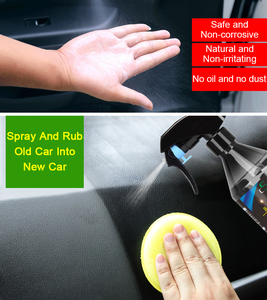 Image 3 - 260ml 500ml 자동차 혐오 세라믹 코팅 나노 유리 도금 크리스탈 액체 자동차 인테리어 고무 및 플라스틱 Retreading 에이전트