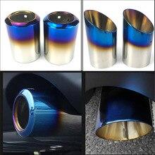 Para mazda 6 atenza CX 5 CX 4 CX 30 mazda 3 axela extremidade da cauda traseira tubo de escape silenciador aço inoxidável guarnição estilo do carro