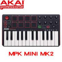 Akai professionale MPK Mini MK2 MKII-25 chiave ultra portatile USB MIDI drum pad e tastiera controller
