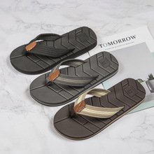 2020 New Arrival Summer Men Slippers High Quality Beach Sandals Drain Design Quick-drying Flip Flops Anti-slip Shoe Male 40-50