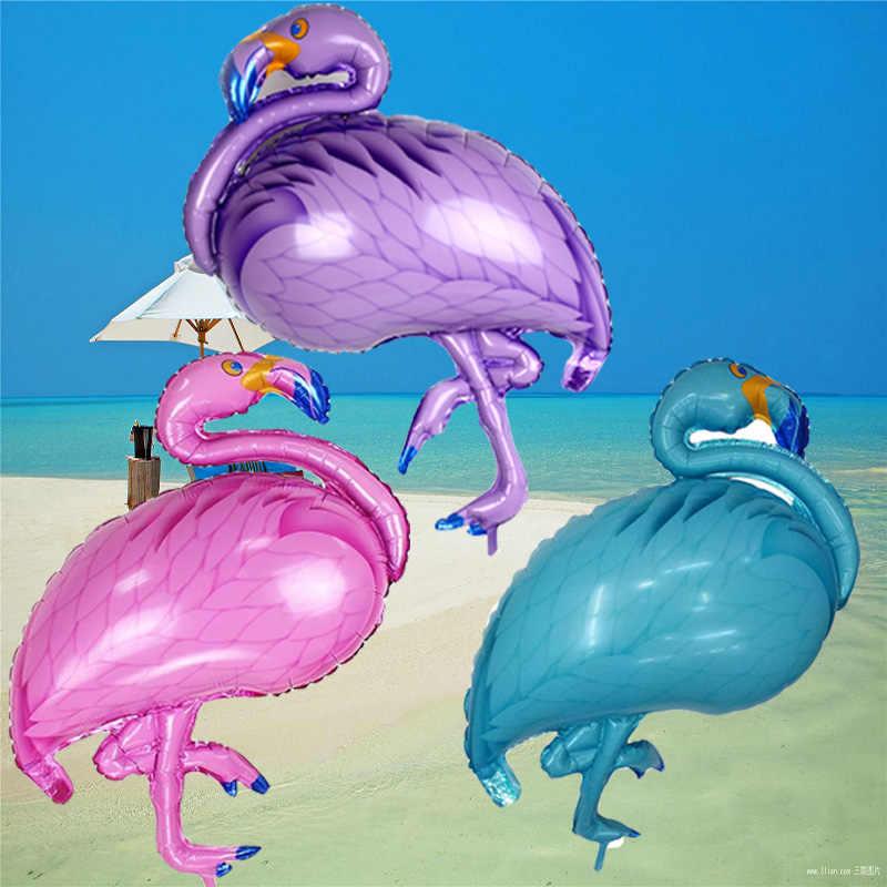 1 шт. белые воздушные шары из фольги с лебедем большой фламинго для свадьбы или «нулевого дня рождения» украшения для мальчиков и девочек на день рождения Детские игрушки Globos