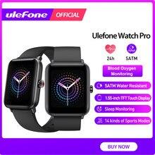 Ulefone relógio pro smartwatch 5atm banda à prova dwaterproof água freqüência cardíaca monitoramento do sono para android ios