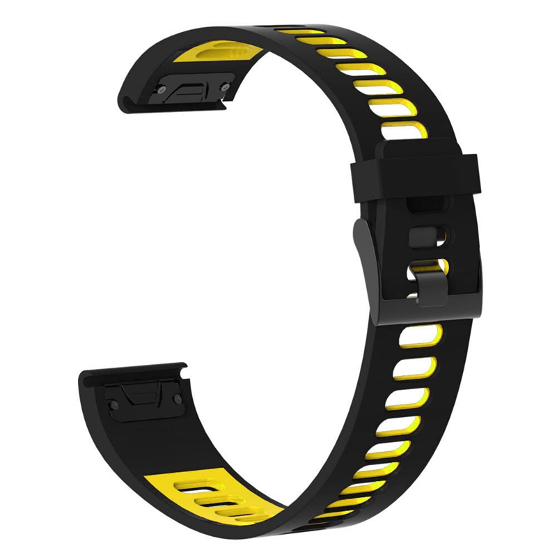 22mm Watchband For Garmin Fenix5/5Plus Forerunner935 Fenix 6 Watch Quick Release Silicone Easy Fit Wrist Band Strap