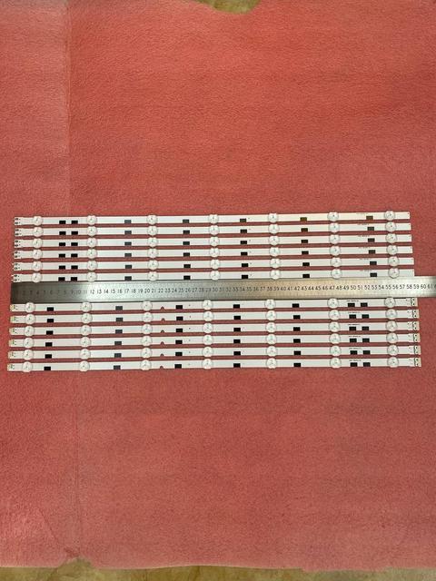 חדש 5 סט = 60 PCS LED רצועת עבור Samsung UA58H5288 UE58J5200 2014svs58 מגה 3228 DMGE 580SMA R3 580SMB R3 BN96 32771A 32772A