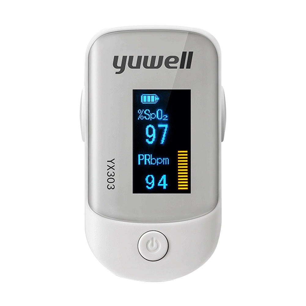 Medical Heart Rate Monitoring Fingertip Pulse Oximeter with OLED Display and Auto Shut Down 10