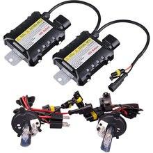 1 set Xenon H4-2 Hid Kit 35W 55W H13 xenon 9004 9007 Halogen and Xenon bulb Car light source 4300 5000 6000 8000 10000 12000