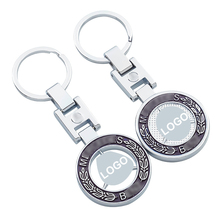 Car-Keychain Keyring Mercedes-Benz Pendant Auto-Accessories Boyfriend Gift Metal Classic