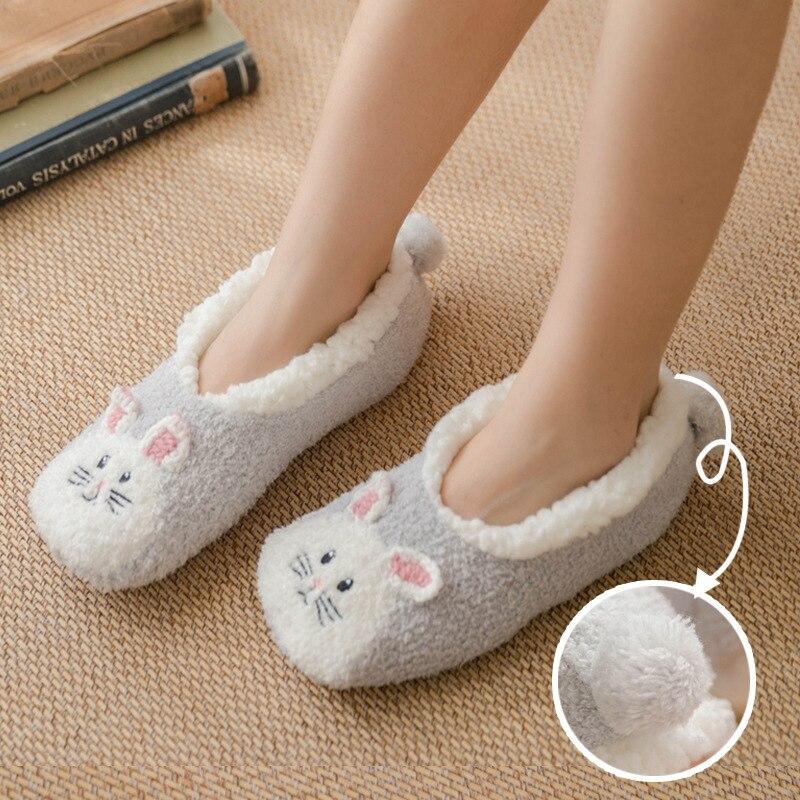 Womens Slipper Socks Low Cut Comfy\u0026Warm
