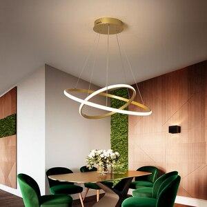 Image 3 - Lampadario Oro/caffè/Bianco Per Lliving sala Da Pranzo Cucina Camera di Figura rotonda Lampadario Apparecchi di Illuminazione di illuminazione per Interni