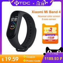 Xiaomi Mi Band 4 Nieuwste Sport Miband 4 Smart Armband Hartslag Fitness Tracker 135Mah Kleur Scherm Waterdichte Bluetooth 5.0