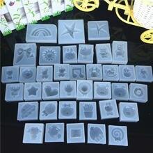Sprzedawane wagowo na formy żywiczne silikonowe foremki DIY epoksydowe (losowy rodzaj)