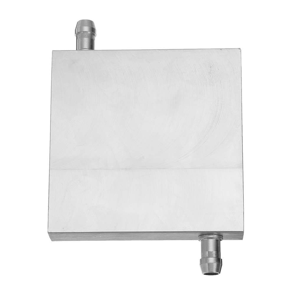 80x80x15mm Aluminum Water Cooling Block For CPU Semiconductor Cooling Radiator Heatsink
