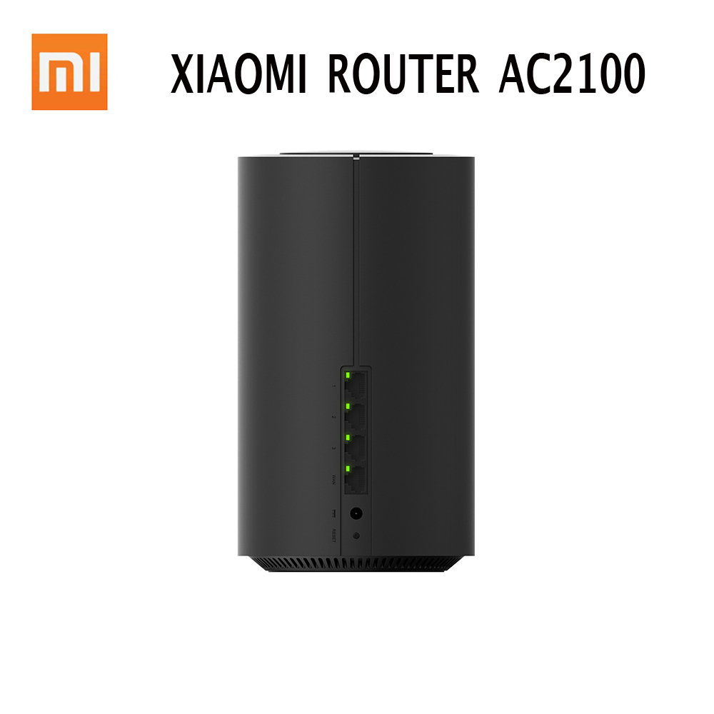 Xiaomi Router AC2100 2.4GHz 5GHz 1733Mbps Mi WiFi Repeater Gigabit Ethernet Port WiFi 128Mb Dual Core CPU APP Control For Mihome