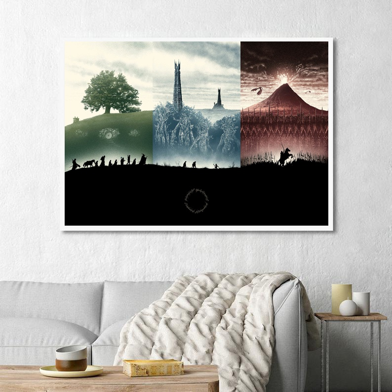 The Lord of the Rings Movie Classical Art Canvas Poster Home Wall Decor (No Frame) image
