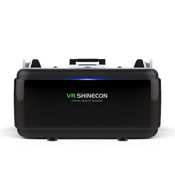 VR SHINECON G06E Mini VR Glasses 3D G 06E Glasses Virtual Reality Glasses VR Headset For Google cardboard with headphone 2
