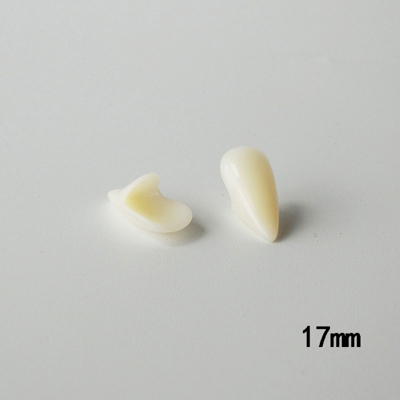 Hd38c66961bba48f6a18d7c95158811fbB - 1 Pairs Vampire Teeth Fangs Dentures Props Halloween Costume Props False Teeth Solid Glue Denture Adhesive Party DIY Decorations