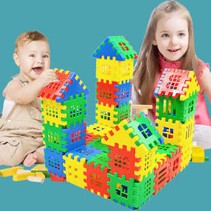 Building-Blocks Plastic Baby Children Educational Toy for Kids Funny Colorful Christmas-Gift