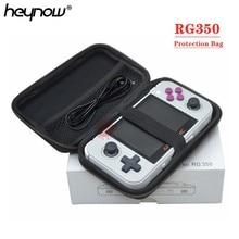 Портативный защитная сумка жесткий чехол для телефона в виде ретро-игровой консоли RS97 плюс RG350 RG300 дважды пейзаж версия и PocketGo игроки свободное закаленное стекло для RGP PocketGo дважды портативные игровые ко