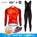 Moxilyn inverno velo térmico conjunto de ciclismo roupas da bicicleta mtb roupas ciclismo conjunto jérsei maillot ropa invierno