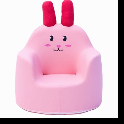 Nordic Rabbit Kids Sofa Single Bedroom Chair Small Household Bean Bag Removable Baby Furniture Child Bed Ins