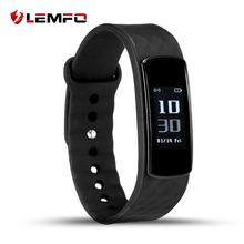 LEMFO I3 HR Smart Wristband 0.96 Inch Screen Heart Rate Monitor Fitness Tracker Call ID Remind Adult Smart Health Bracelet(China)