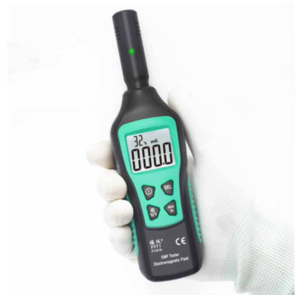 NEW EMF RADIATION METER TESTER EMF DETECTOR ELECTRIMAGNETIC FIELD 4G 5G WIFI LCD Radiation Detector Electromagnetic Field Tester