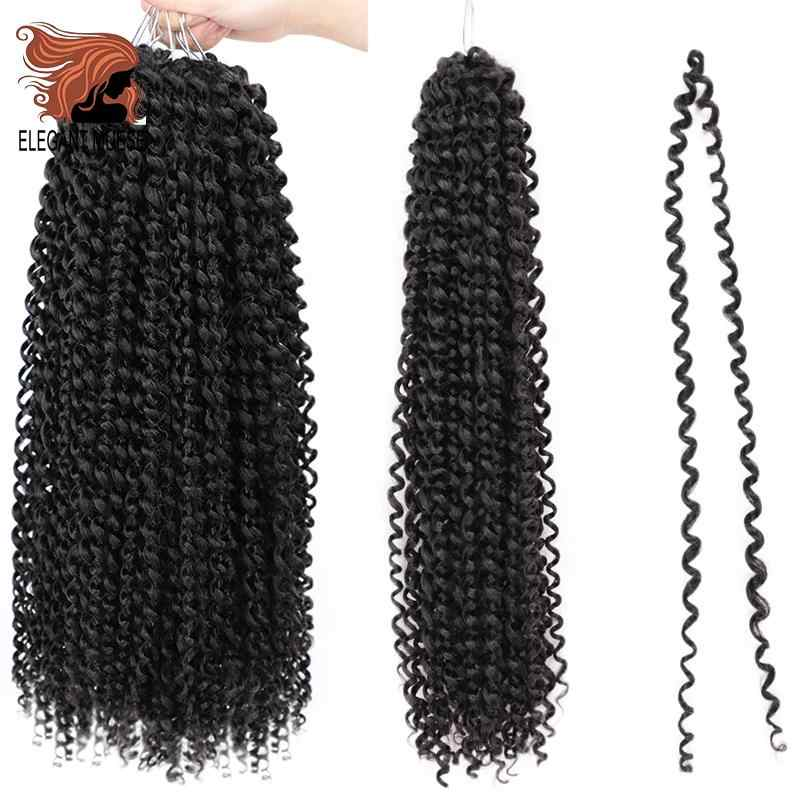 Passion Twist Hair Synthetic Crochet Braid Hair Extension 22strands/pack 18inch 7pack full your head Spring Twist Hair Toyotress