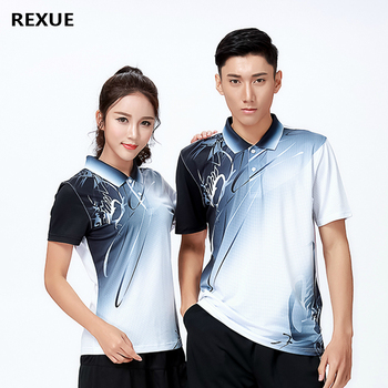 цена New Sports shirt polo Badminton wear shirts Women/Men's Table Tennis shirt Quick dry sportswear T-shirt ladies Polyester casual онлайн в 2017 году