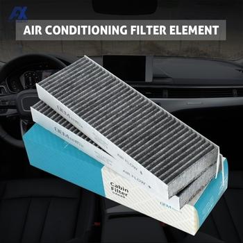 Z węglem aktywnym do samochodu pyłek kabinowy filtr do klimatyzatora Citroen C4 Grand Picasso Berlingo DS5 Peugeot 3008 5008 Partner X2 tanie i dobre opinie CN (pochodzenie) 29cm Activated Carbon Filter Cloth 313g 9 6cm 1J912044