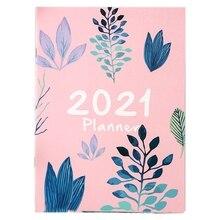2021 Agenda Planner Organizer A4 Notebook Journal Monthly Daily Planner Note Book School Supplies