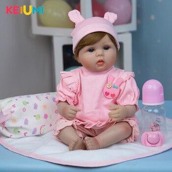 Кукла-младенец KEIUMI 17D03-C374-T29-H102-H162 1