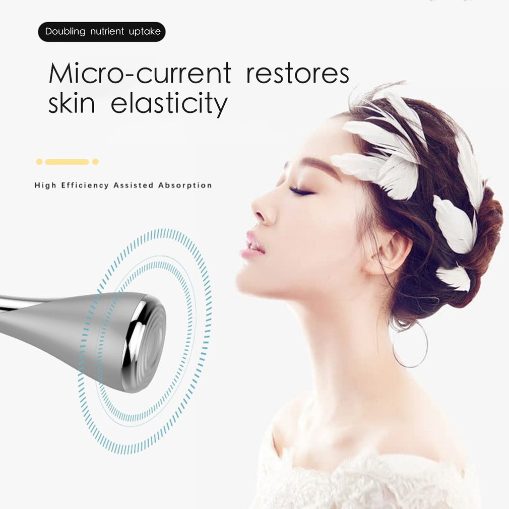 Magnetic Ion Cleansing Instrument Beauty Micro Current Rejuvenation Ion Therapy Facial Anti-aging Skin Face Lifting Tightening
