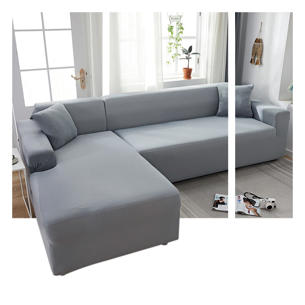 Classic Sofa Cover For Living Room Stretch Covers Sofa Chaise Cover Lounge Slipcovers Protector Cushion Cover 1pc
