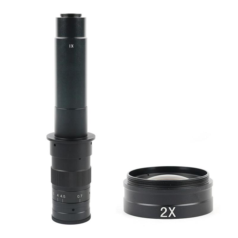 光学レンズ最大 600X 360X 調整可能なズーム C マウントレンズ Hdmi VGA USB 業界ビデオ顕微鏡カメラ  グループ上の ツール からの レンズ の中 1