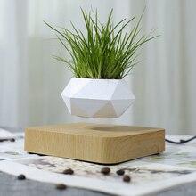 Magnetic suspension flower pot Levitating Air Bonsai Pot plant pot succulent pot patio decoration Desktop Flower/Green Plant