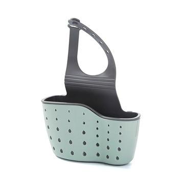 Sink Shelf Soap Sponge Drain Rack Bathroom Holder Kitchen Storage Suction Cup Kitchen Organizer Sink kitchen Accessories Wash 6