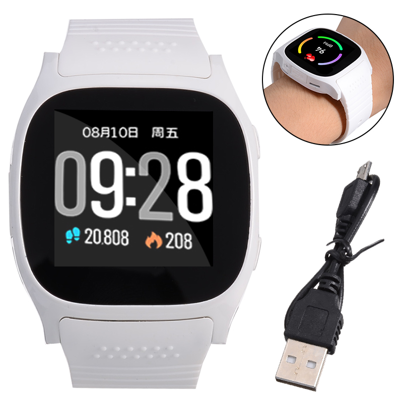 bluetooth Smart Watch Phone Mate SIM Sport Pedometer For Android iPhone Samsung LCD touch screen SIM TF Card Smart Watch