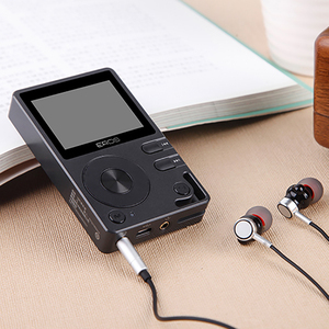 Aigo eros q mp3 player de alta fidelidade bluetooth dac dsd mini leitor de música de áudio sem perdas hi-res jogador portátil