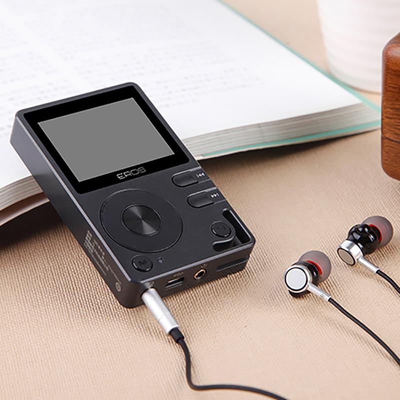 Aigo EROS Q lecteur Mp3 Bluetooth lecteur Hifi DAC DSD Mini lecteur de musique Audio lecteur Portable hi-res sans perte