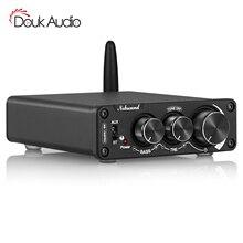 Douk אודיו מיני Bluetooth 5.0 TPA3116 דיגיטלי מגבר HiFi 2.0 ערוץ Class D אודיו מגבר APTX HD 100W + 100W