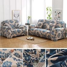 Floral printed Stretch Sofa Covers for Living room Cover Elastic Couch Home Decor Slipover Top Quality 2019